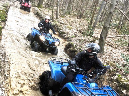 Randonnée quads
